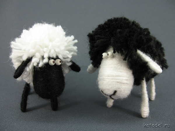 Фото овца своими руками